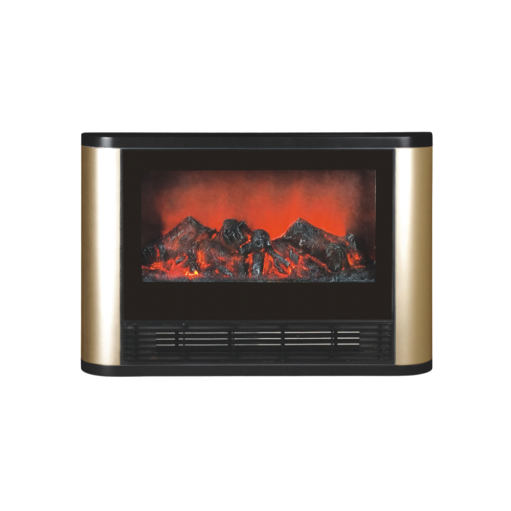 eurohome spherical silver electric portable fireplace the