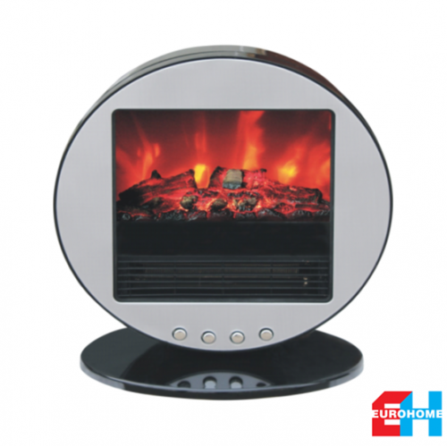 EuroHome Electric Portable Fireplace